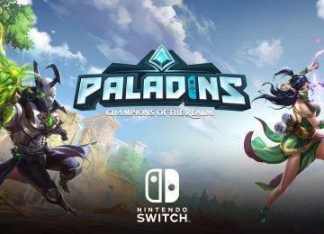 Paladins Nintendo Switch
