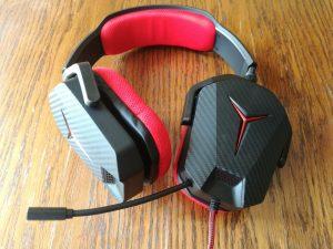 test sluchawek dla graczy Lenovo Y Gaming Stereo Headset