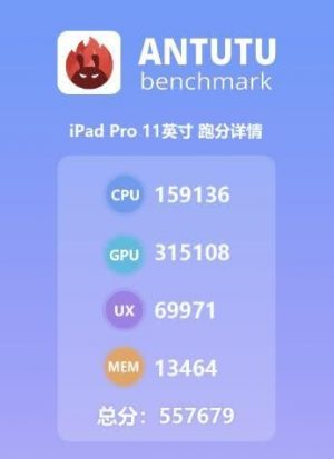 Apple iPad Pro Antutu