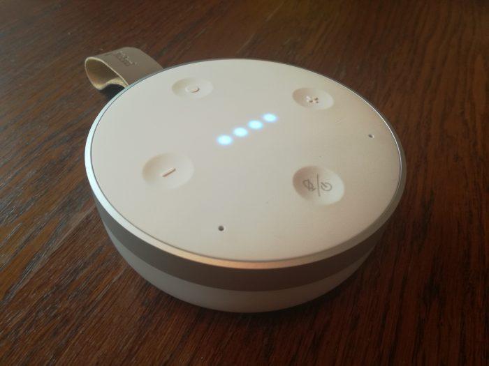 test głośnika mobilnego Mobvoi-TicHome-Mini
