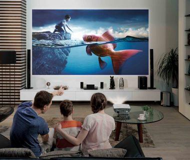projektor mobilny