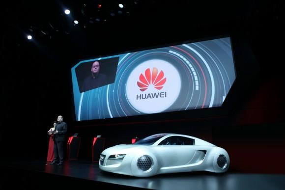 Huawei and Audi