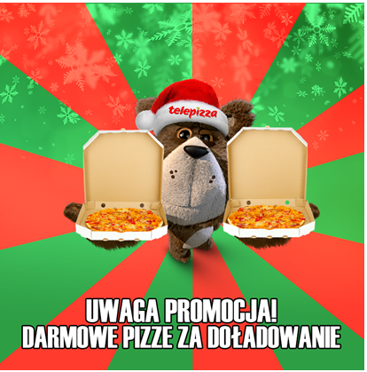 Plush darmowa pizza