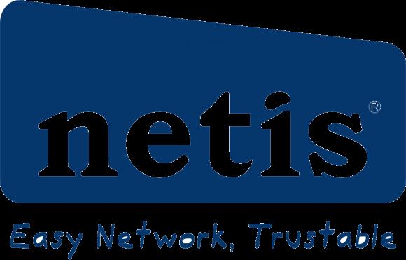 netis logo with slogan