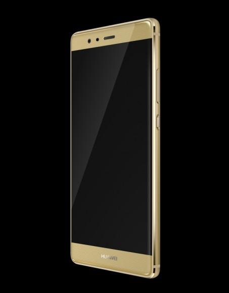 Huawei P9 Gold_sandblasted_leftFront_HD