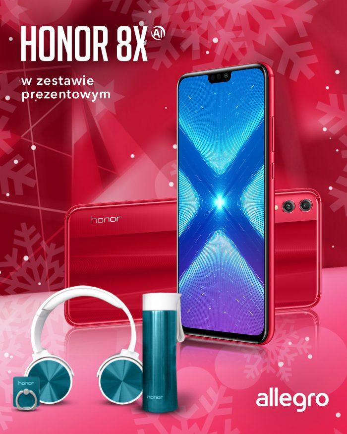 czerwony honor 8x