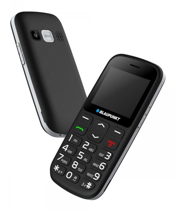 Blaupunkt BS 02 telefon komórkowy dla seniorów