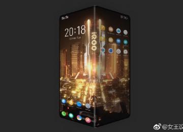 vivo iqoo smartfon ze składanym ekranem
