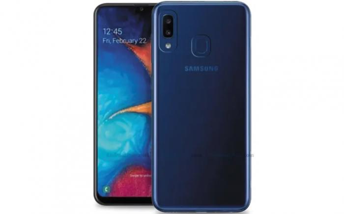 Galaxy A20e render
