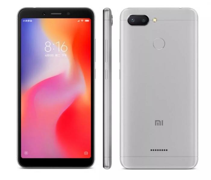 Najlepsze smartfony do 600 złotych w 2019 roku - Xiaomi Redmi 6