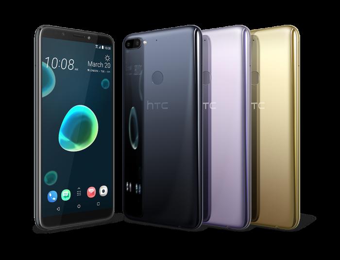Najlepsze smartfony do 600 złotych w 2019 roku - HTC Desire 12+